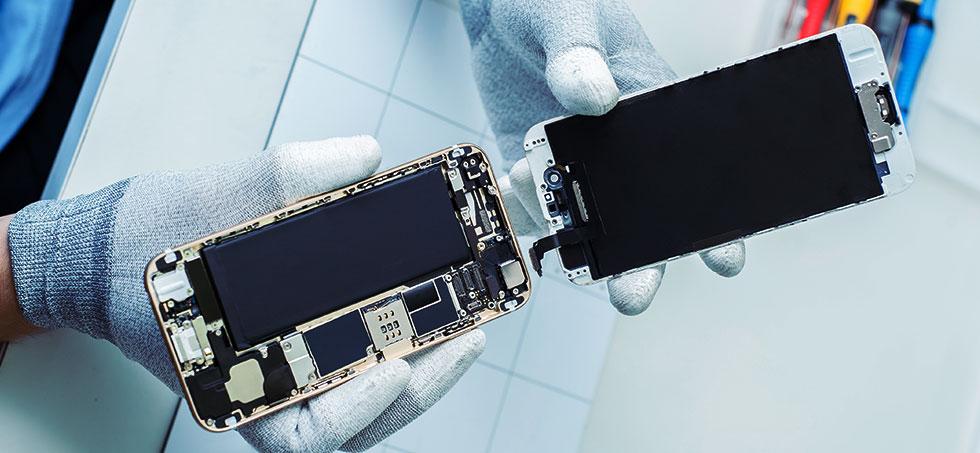 Замена антенны iphone со внутренним повреждением
