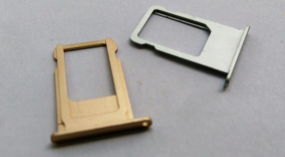 Замена sim-держателя iphone